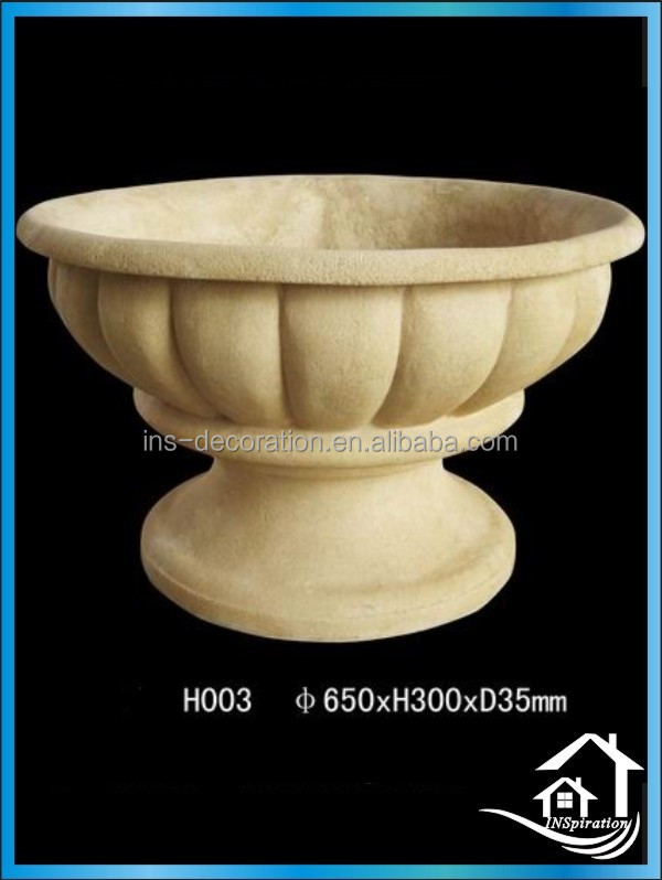 Ourside grandi vasi da giardino in pietra vaso di fiori for Grandi vasi da giardino