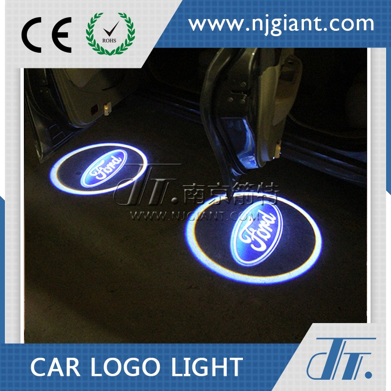 Led Car Door Courtesy Laser Projector Light With Car Logo For Ford