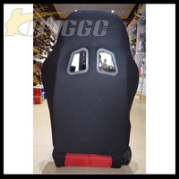 Red Cloth Adjustable Racing Car Seat Guangzhou