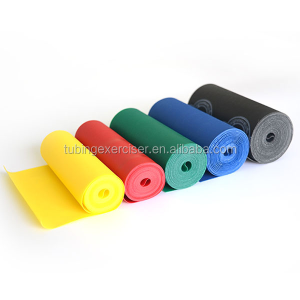 Gym equipment rubber sports and gym equipment,latex elastic band