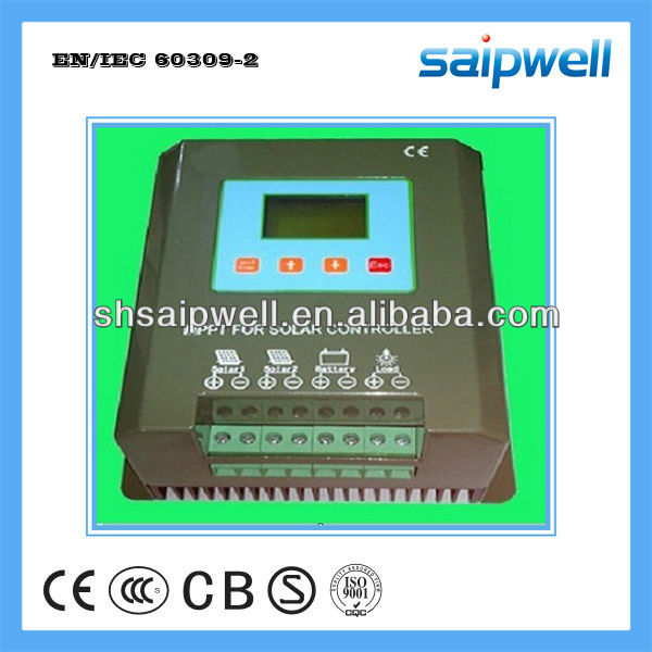 Hybrid Solar Charge Controller 24V /48V With LCD