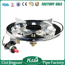 Automatic ignition device portable camping gas stove, best-selling commercial single burner gas stove