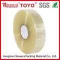 bopp packing tape big roll for machine use clear and yellowish