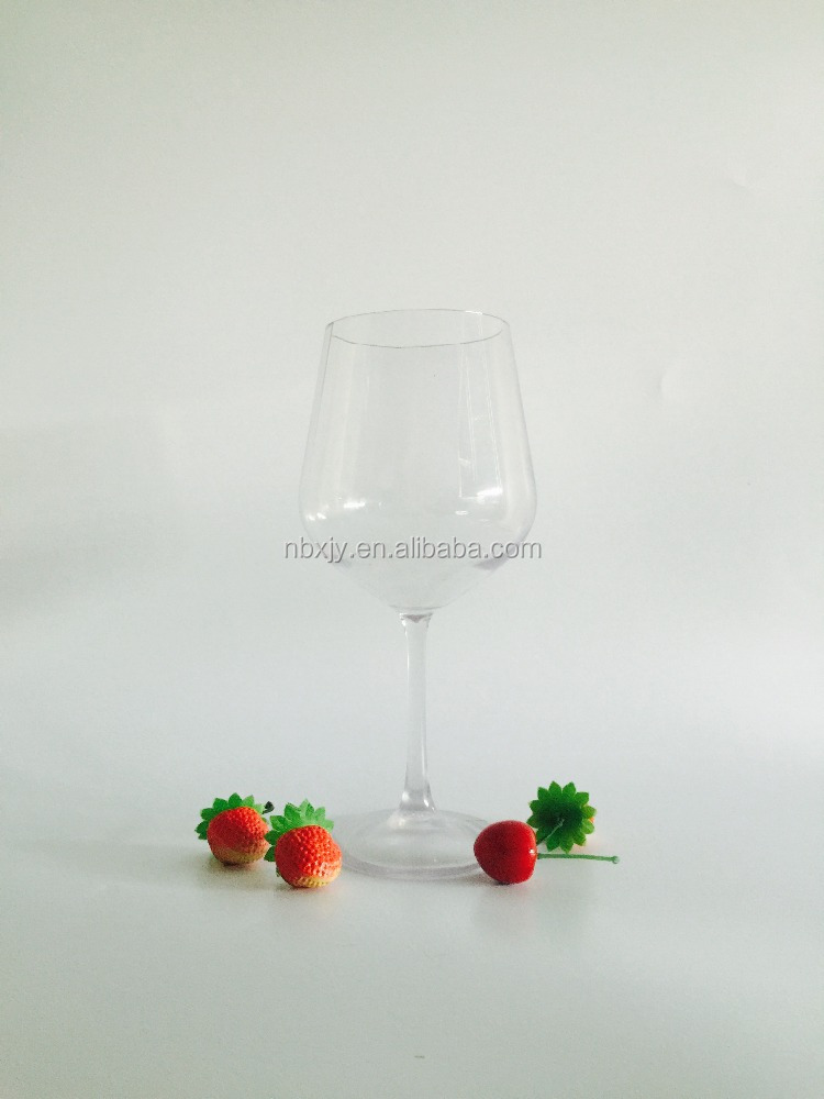 High quality fashionable party tritan red wine glass