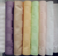100% cotton fabric with stripe design for bed sheet