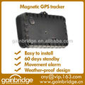 Mini GPS assets tracking tracker with magnets for instant fitting to vehicles and assets