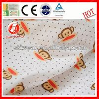 antistatic fireproof 100% polyester moisture wicking knitted fabric