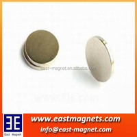 Manufacture customized N52 permanent strong rare earth Neodymium magnet/magnet for proximity sensor