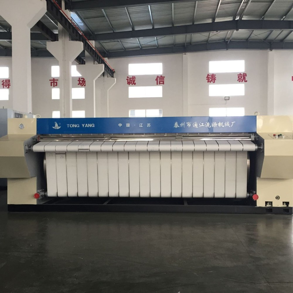 3 meter electric industrial laundry iron press
