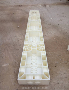 100 Times Construction 7.5 cm Plastic Formwork for concrete