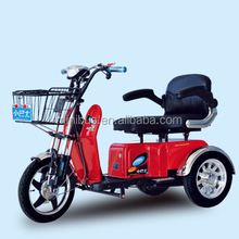 2015 New China Cheap Adults Three Wheel Electric Tricycle Mobility Scooter with Sunny Roof