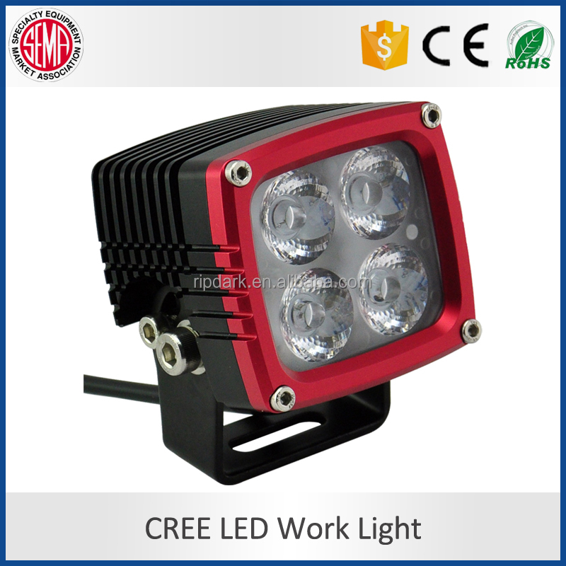 CNC made IP68 uniq 3inch led 12v bicycle light bicycle led spoke lights electric off road bike led working light for car