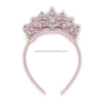 Crown Headband Cute Hair band with Little Crystal For Kids & Baby