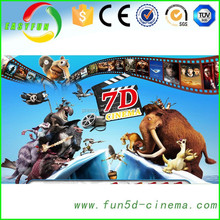 Big promotion low investment high profit business,7d cinema 7d theater with 140 5d