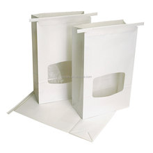 wholesale white window paper bag planter