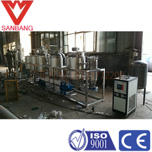 Rubber seed /moringa seeds refining bleaching deodorization device is equipped with dewatering dewaxing