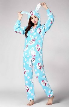Super quality best sell women one piece fleece adult animal jumpsuit