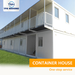 Container Houses Apartment China 2 Or 3-Story 4 Rooms Living Refugee Camp 40 Ft Container House Luxury For Sale In Kenya