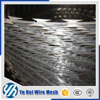 first class razor barbed wire /razor barbed wire mesh fence