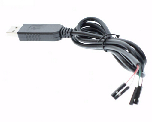 Smart Electronics PL2303 PL2303HX USB to UART TTL Cable Module 4pin RS232 Converter Serial Line Support Linux Mac Win7