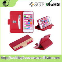 2015 Best Selling Cheap Phone Case Easy Clip Design With 1 Card Slot For iPod Touch 6