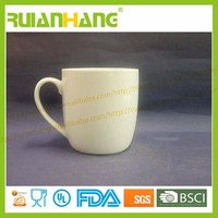 ceramic porcelain mug 380ml white blank
