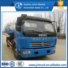 Manual Transmission Type and Diesel Engine 6 ton sewage suction vacuum truck tank manufacturer