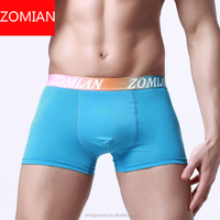 custom men cotton spandex boxer underwear manufacturers in china