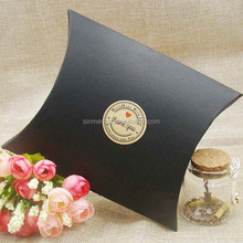 black matte pillow paper box , printed pillow box paper packaging
