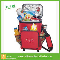High Quality Outdoor Foldable Cooler Bag On Wheels