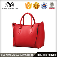 lady luxury Fashion leather tote bag