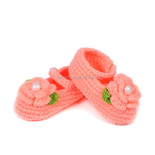 hot sale 2016 wholesale New Winter christmas gift crochet baby first walker shoes