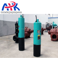 high head 100m/120m/140m/160m/200m multi-stage bottom suction submersible sewage pump for mining well lift water