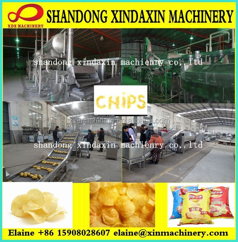 Automatic Plantain Chips Making Machine; Plantain Chips Production Line for sale