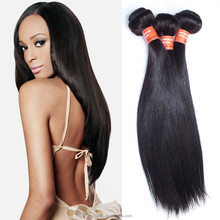 Hot sales most popular raw straight hair pieces, brazilian hair extention,free hair weave samples