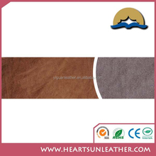 100% pu artificial leather suede for handbag and shoes