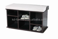 BGSB1406 china products cheap wooden shoe rack bench