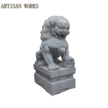 stone carving lion sculpture Western or Eastern