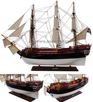 GOTHENBURG WOODEN TALL SHIP MODEL - CRAFT SHIP