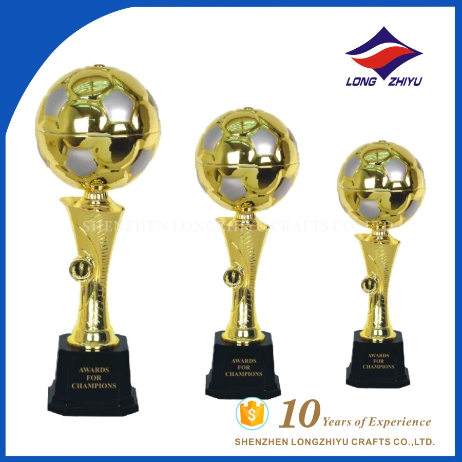 New football design cup trophy