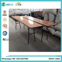 Plywood Banquet Folding Table for Wedding rental