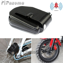 Against thief chain lock universal bicycle motorcycle siren alarm wheel lock set for motorcycle