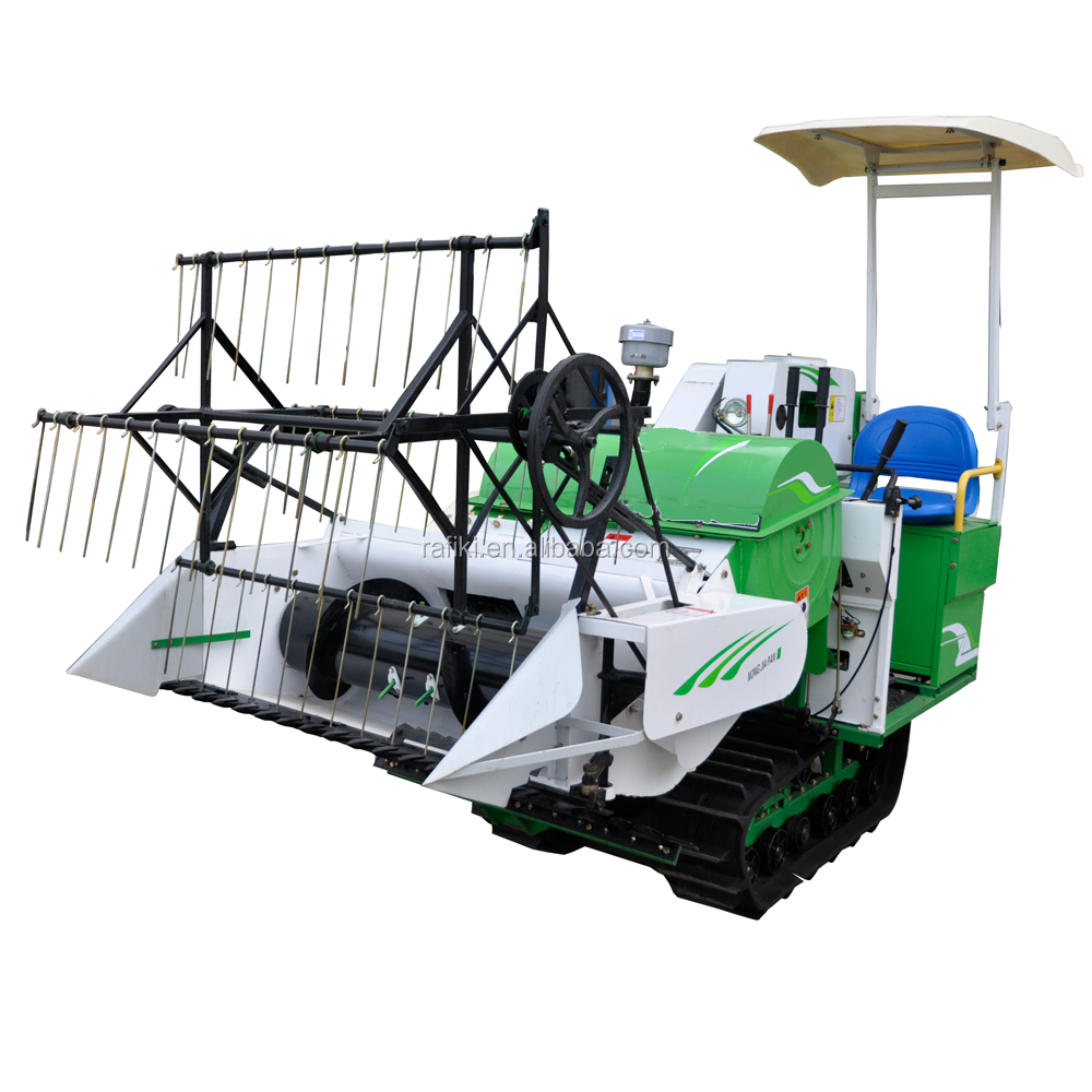mini reaper binder combine rice wheat harvester