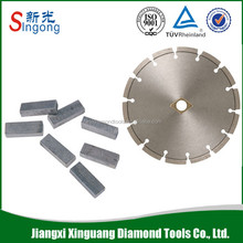 "low price concrete road cutting diamond saw blades 7"" 180mm"
