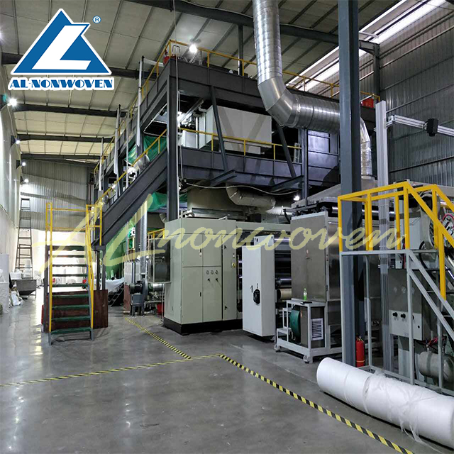 PP Spunbond meltblown Nonwoven fabric making machine/fabric making machines for mask/hygiene