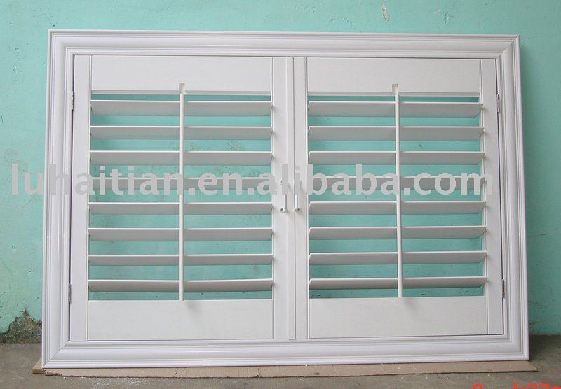 In stile americano parasole pvc otturatore finestre persiane id prodotto 385266257 italian - Finestre stile americano ...