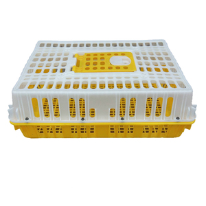 Durable turkey crate transport duck plastic poultry chicken transport cage