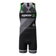 Custom brand mountain road bike jersey cycling one piece skin suit with gel pad