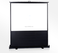 80inch portable pull up floor projector screen