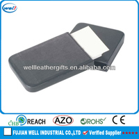 2014 newest PU leather business name card case wholesale